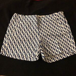 EUC JCREW seahorse shorts size 8